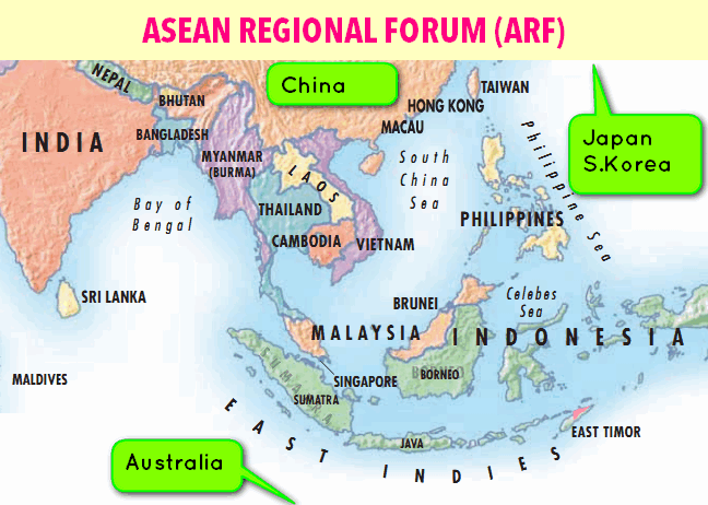 diplomacy  india  u0026 asean regional forum actionplan