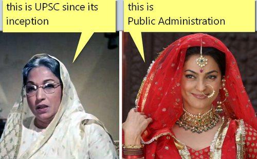 capz-UPSC vs Public Administration