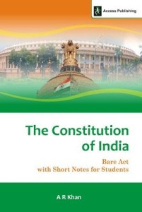 book-the-constitution-of-india-bare-act-with-short-notes-for-students
