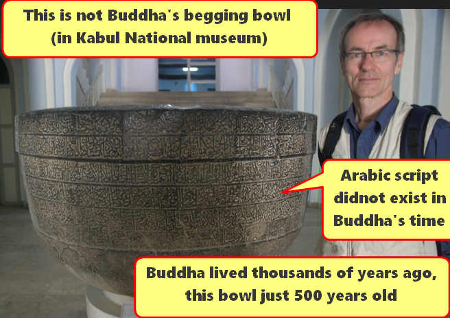 Culture Buddha's begging bowl Kabul