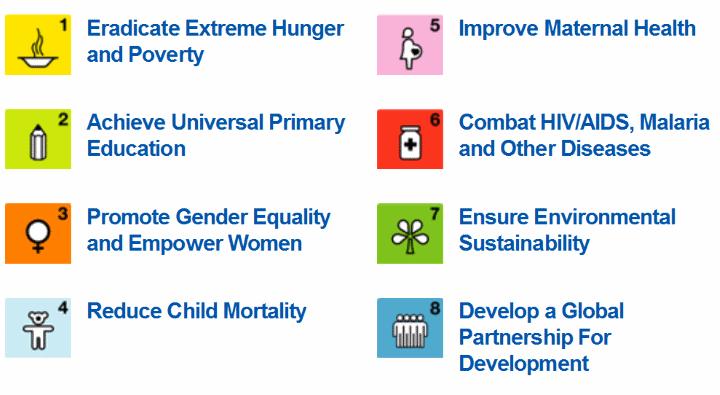 Millenium Development goals MDG