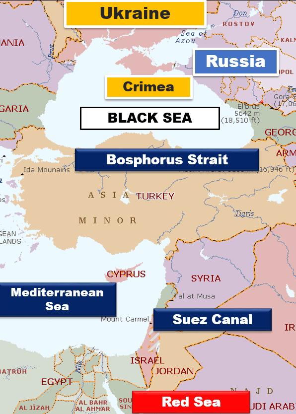 Map-Ukrain Crisis