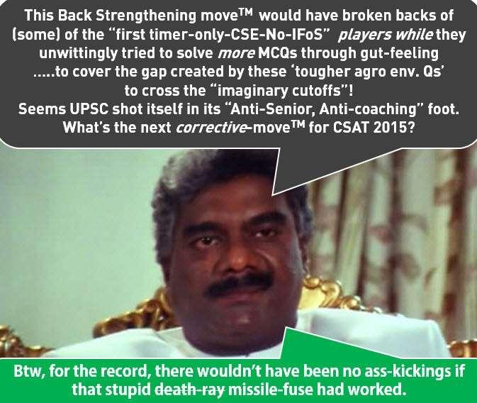 CSAT 2014 Pralaynath Gendaswami Analysis on Agriculture