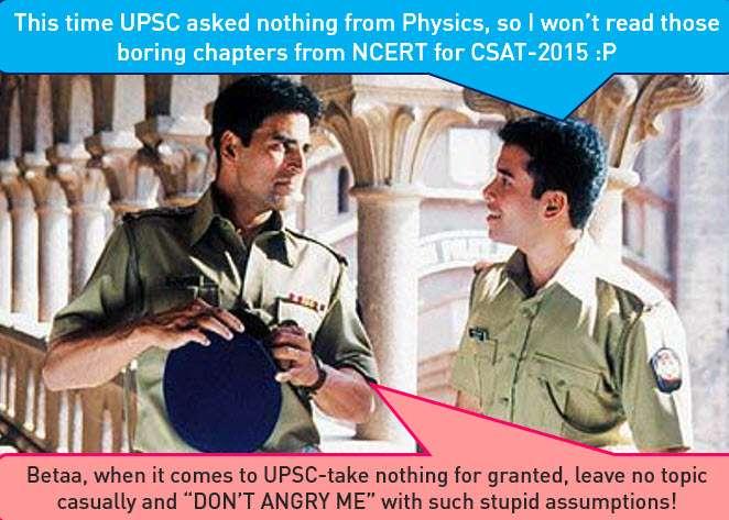 CSAT-2015 how to prepare science with Akshay Kumar
