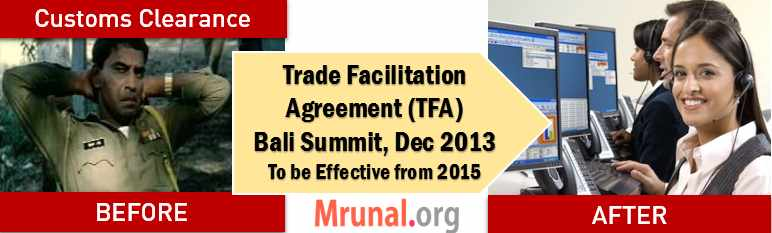 Cover WTO Trade Facilitation Agreement