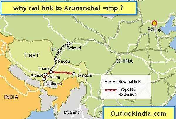 Railway link Arunanchal