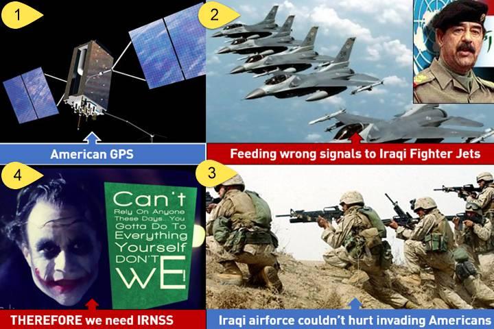 IRNSS vs American GPS