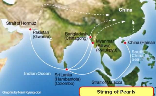 Map-Maritime Silk Road China 2