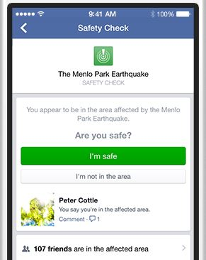 Facebook Safety app