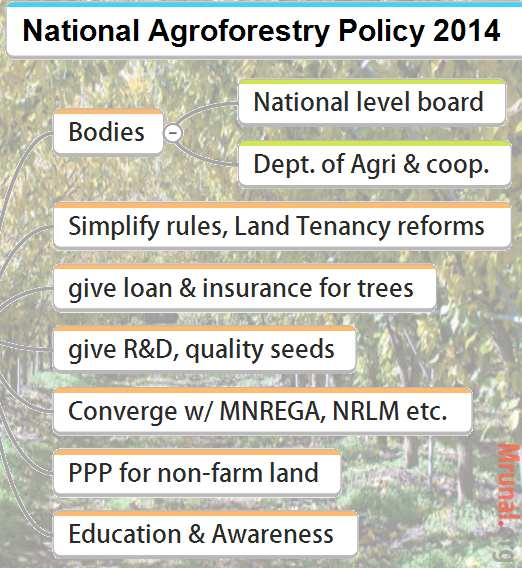 National Agroforestry policy 2014