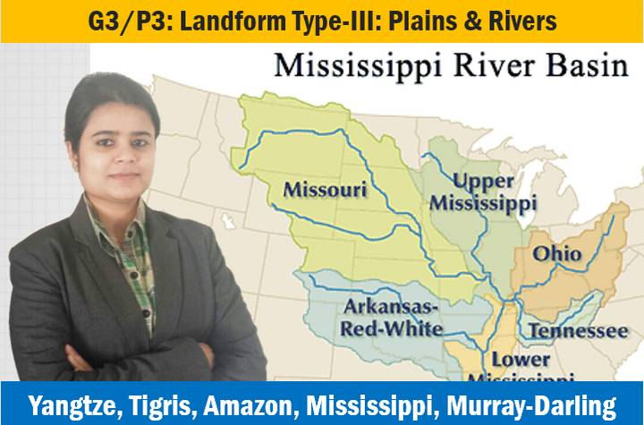 Geography Major Landforms Plains and Rivers