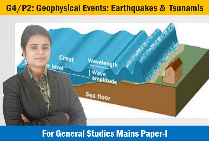 Geophysical phenomenon Earthquakes and Tsunamis