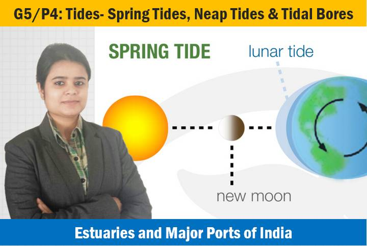 Ocean Tides and Major Ports of India