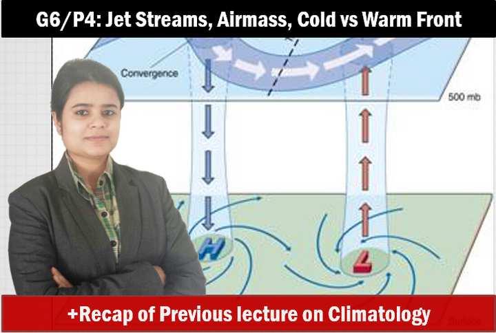 Geography Climatology Airmass & Jetstreams
