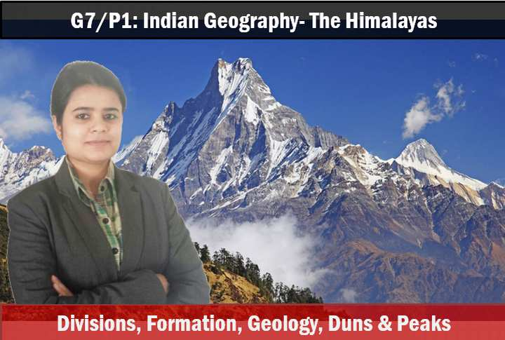 Indian Geography Himalayas