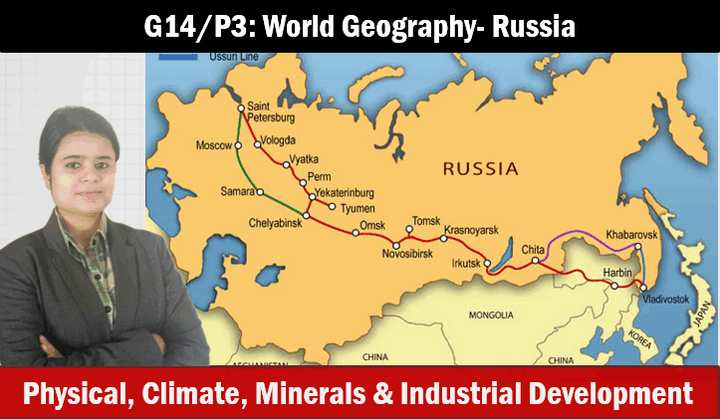 World Geography Resource Distribution-China,Japan,Russia