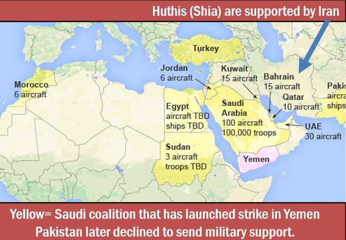 Map Yemen Operation Raahat
