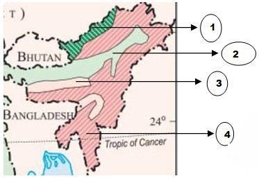 NCERT Map Question UPSC CSAT Prelims