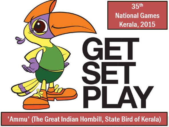 ICC cricket World Cup 2015 & National Games 2015 mascot