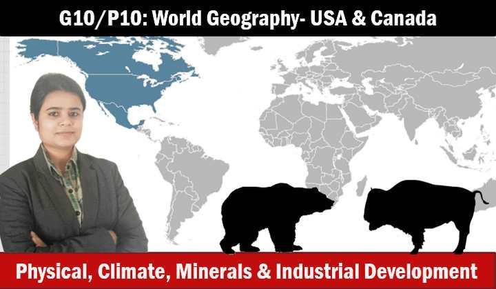 World Geography USA Canada