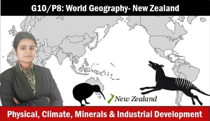 World Geography Newzealand