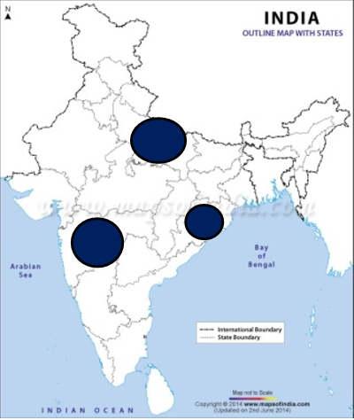 general studies mock test map