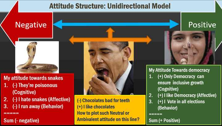 Atttiude: Uni-directional structure model & limitations