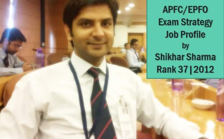 APFC-EPFO-job-profile exam strategy