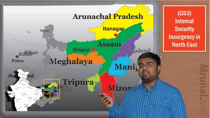 North East insurgency Naga accord