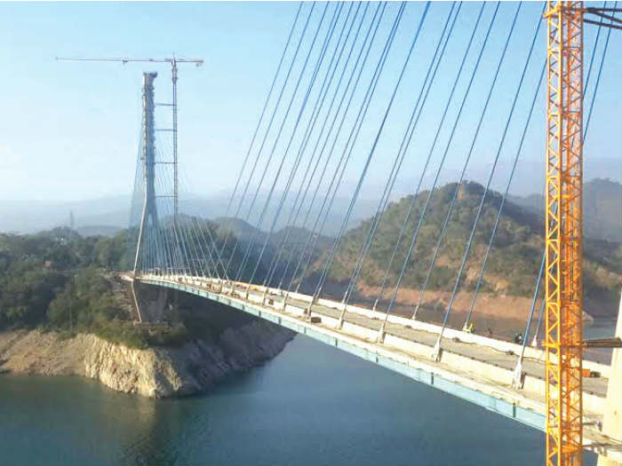 Cable Bridge Jammu Kashmir