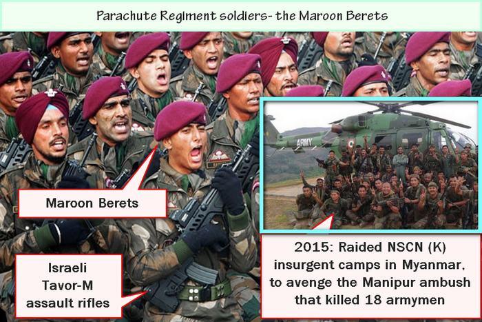 Maroon Beret Special forces parachute regiment