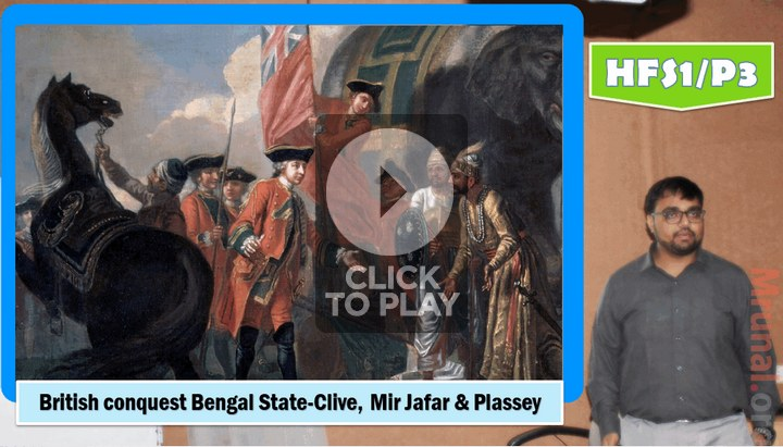 battle of plassey and british conquest of Bengal