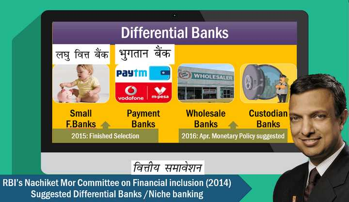 Differential Banks Local Area Banks