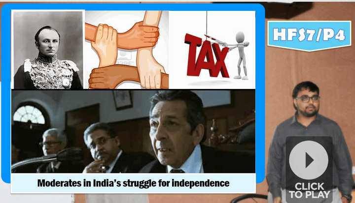 moderate movement for india's struggle for independence