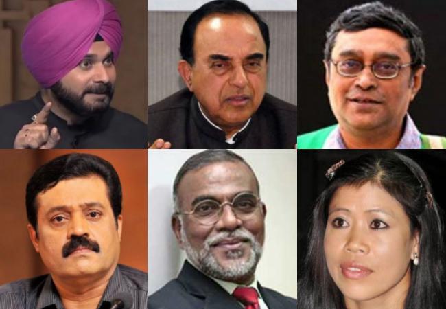 nominated members of Rajya Sabha