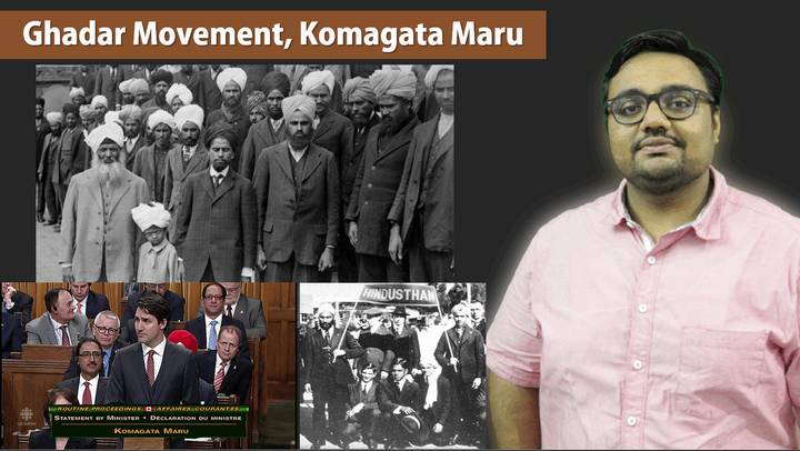 HFS8/P2: Ghadar Movement, Komagata Maru incident
