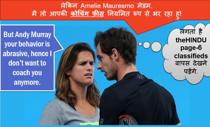 Andy Murray splits with Amelie Mauresmo