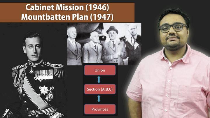 Cabinet Mission Mountbatten Plan