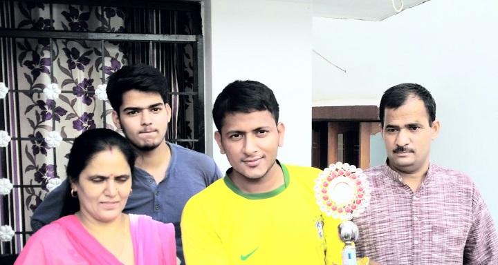UPSC Topper 2015 Narender Singh Bhandari