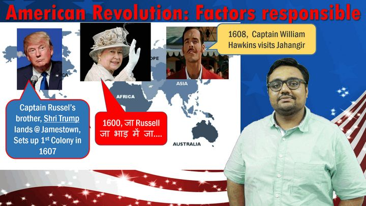 WHUS/P1: American Revolution: Factors responsible
