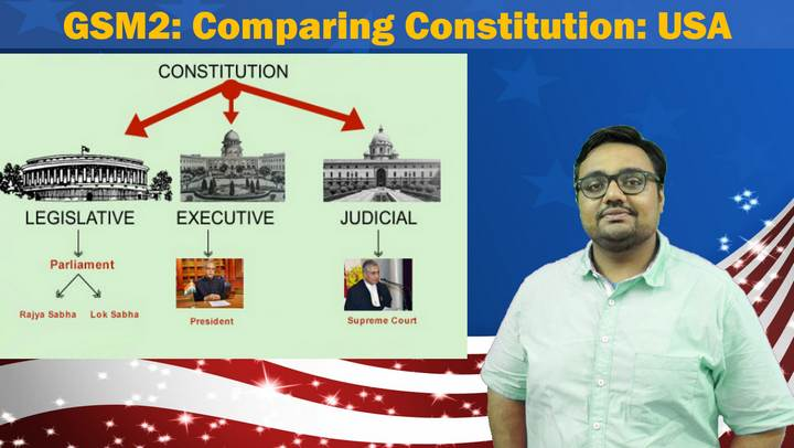 Comparing Constitution USA Bill of rights