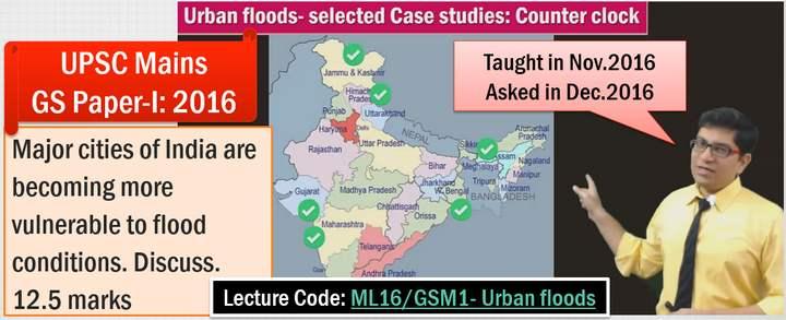 Geography Urban Floods
