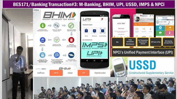 BHIM UPI IMPS USSD Mobile Banking