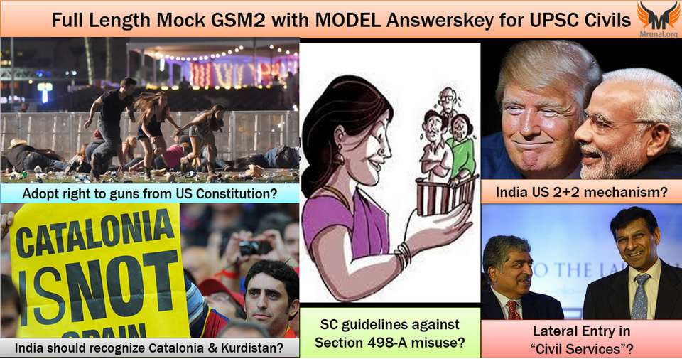 Mock Test GS2 Section 498-A