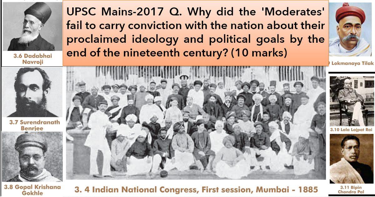 Moderates in Freedom Struggle