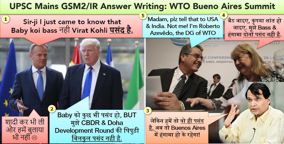 WTO Buenos Aires Summit EPICFAIL