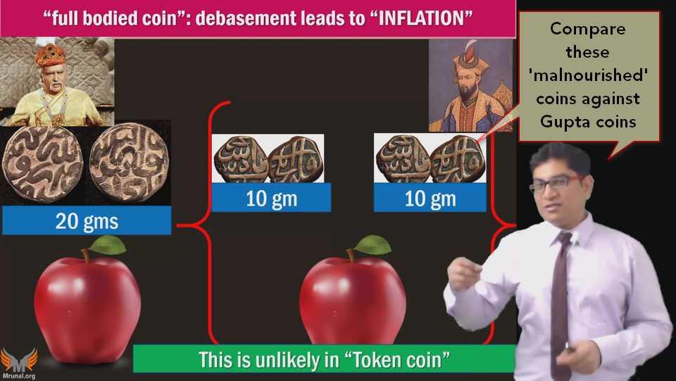 debaesment of Mughal coins