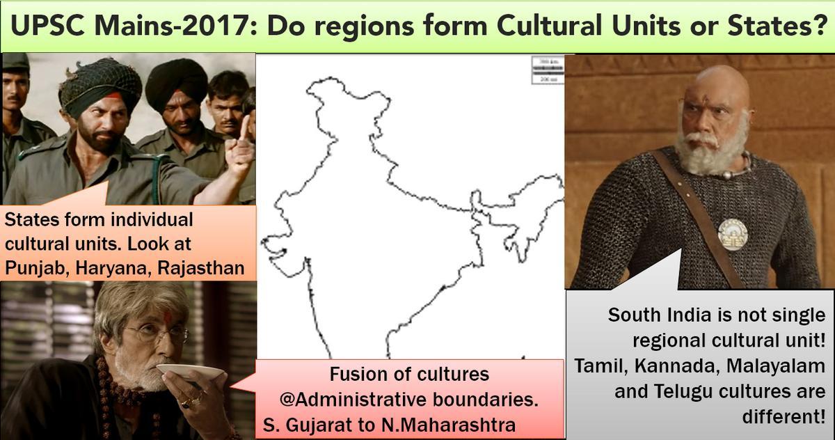 UPSC Model Answer Cultural Units