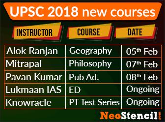 Prelim Courses