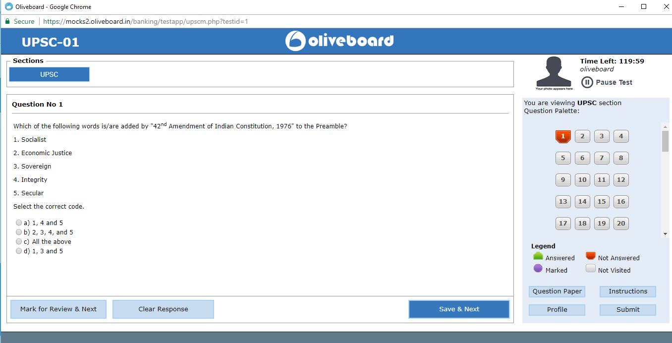 oliveboard mock test